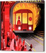 Hell Train Canvas Print