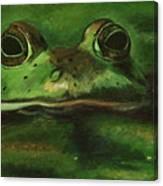 Helllloooooo Hopper Canvas Print