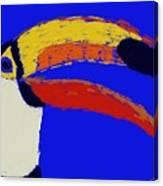 Hello Toucan Canvas Print