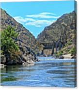 Hells Canyon Dam  Canvas Print