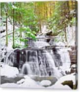 Hells Hollow Falls 1 Canvas Print