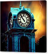Hells Timeclock Canvas Print
