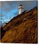 Helnaes Lighthouse Canvas Print
