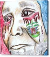 Help Haiti  For A Better Future  Canvas Print