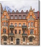 Helsingborg Building Facade Canvas Print