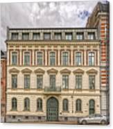 Helsingborg Building Frontage Canvas Print