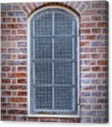 Helsingor Grilled Window Canvas Print