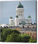 Helsinki Cathedral Canvas Print