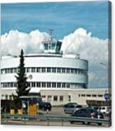 Helsinki - Malmi Airport Building Canvas Print