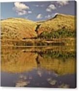 Helvellyn Mountain Reflections Canvas Print