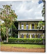 Hemingway House, Key West, Florida Canvas Print