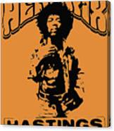 Hendrix 1967 Canvas Print