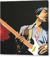 Hendrix 4 Canvas Print