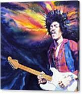 Hendrix Canvas Print