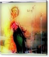 Hendrix Live Canvas Print
