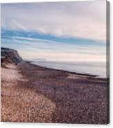 Hengistbury Head And Beach Canvas Print