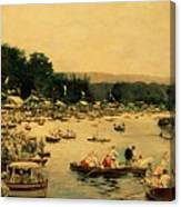 Henley Regatta Canvas Print