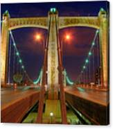 Hennepin Avenue Bridge Minneapolis Canvas Print