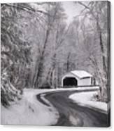 Henningers Farm Covered Bridge Canvas Print