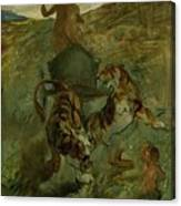 Henri From Toulouse-lautrec 1864 - 1901 Allegory, The Life Spring Canvas Print