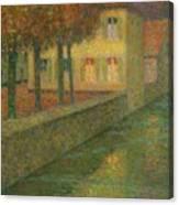 Henri Le Sidaner 1862 - 1939 Home Channel Canvas Print