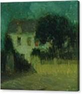 Henri Le Sidaner 1862 - 1939 Moonlight Canvas Print