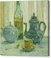 Henri Le Sidaner 1862 - 1939 Still Life Canvas Print