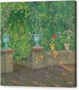 Henri Le Sidaner 1862 - 1939 The Pots Faience Canvas Print