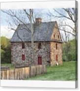 Henry Antes House Canvas Print