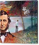 Henry David Thoreau Canvas Print