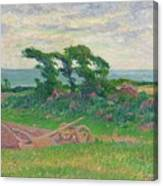 Henry Moret 1856 - 1913 The Plough Canvas Print