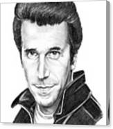 Henry Winkler The Fonz Canvas Print