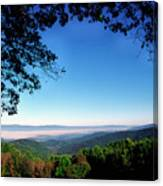 Hensley Hollow Overlook Canvas Print
