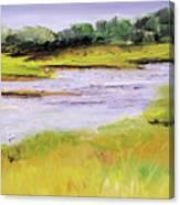 Her River Dream Canvas Print
