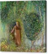 Her Secret Garden Canvas Print
