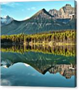 Herbert Lake - Quiet Morning Canvas Print