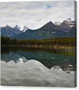 Herbert Lake Reflections  Canvas Print