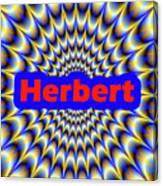 Herbert Canvas Print