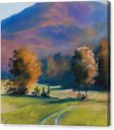Herbstfarben Bei Aschau Canvas Print