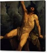 Hercules On The Pyre 1617 Canvas Print