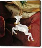 Here Comes Prancer Canvas Print