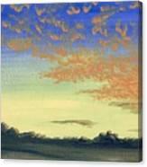 Here Comes Sunshine Canvas Print