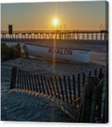 Here Comes The Sun - Avalon New Jersey Canvas Print