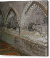 Hereford Cathedral Crypt Canvas Print