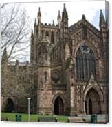 Hereford Cathedral  England Canvas Print