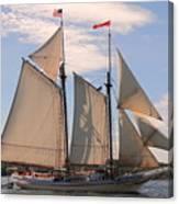 Heritage Full Sail Canvas Print