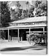 Heritage Town Of Echuca - Victoria Australia Canvas Print