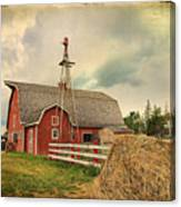 Heritage Village Barn Canvas Print