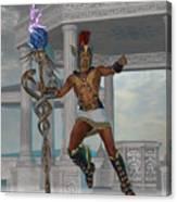 Hermes Messenger To The Gods Canvas Print