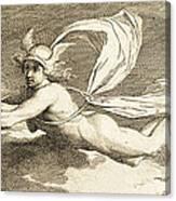 Hermes With Caduceus, 1791 Canvas Print